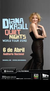 Diana Krall en Guadalajara 2010