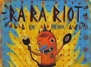 Ra Ra Riot en Mexico DF 2013