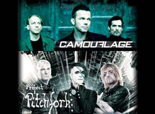 Camouflage y Project Pitchfork en México 2013