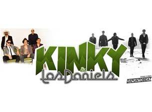 Kinky y Los Danields en la ciudad de Mexico