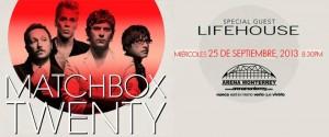 Matchbox Twenty en Monterrey 2013