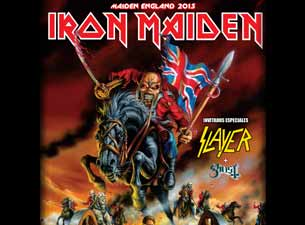 Iron Maiden en Mexico 2013