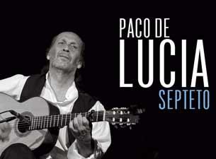 Paco de Lucía en Guadalajara 2013