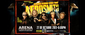 Aerosmith en Mexico DF 2013