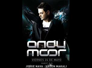 Andy Moor en Mexico DF 2013