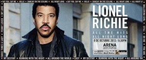 Lionel Richie en Mexico DF 2013