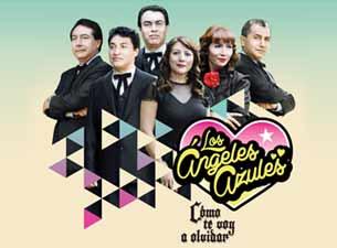 Los Ángeles Azules en Mexico DF 2013
