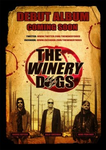 The Winery Dogs en Barcelona y Madrid 2013
