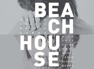 Beach House en Mexico DF 2013
