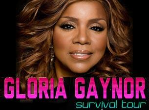 Gloria Gaynor en Mexico DF 2013