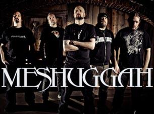 Meshuggah en Mexico Df 2013