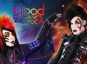 Blood on the Dance Floor en Mexico DF 2013