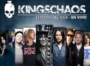 Kings Of Chaos en Mexico DF 2013