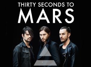 30 Seconds to Mars en México 2014