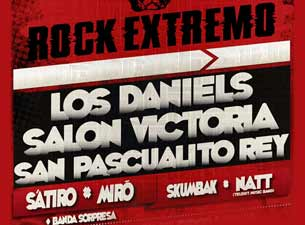 Rock Extremo en Mexico DF 2013