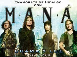 Maná en Pachuca 2014
