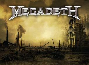Megadeth en Guadalajara, Mexico y Monterrey