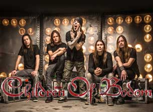 Children of Bodom en Mexico DF 2014