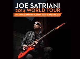 Joe Satriani en Mexico DF 2014