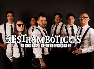 Los Estrambóticos en Mexico DF 2014