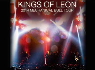 Kings of Leon en Mexico DF 2014